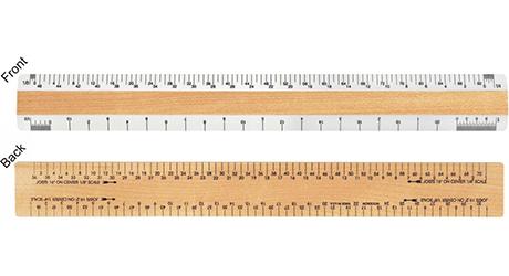 quality architect scale ruler i woodrow 12