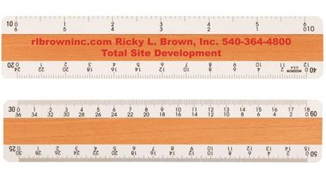 Quality-Grade Engineer Ruler   Woodrow   6